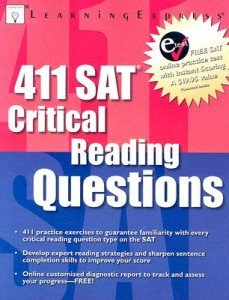 411 SAT Critical Reading Questions